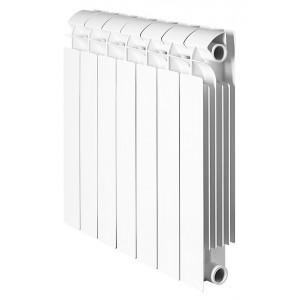 Global STYLE PLUS 500 8 секций радиатор биметаллический боковое подключение
