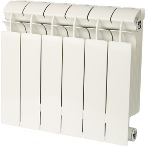 Global STYLE PLUS 350 6 секций радиатор биметаллический боковое подключение