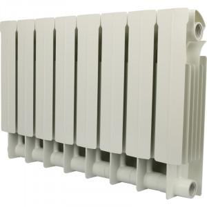 Global STYLE PLUS 350 8 секций радиатор биметаллический боковое подключение