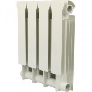 Global STYLE PLUS 350 4 секции радиатор биметаллический боковое подключение