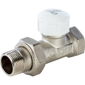 STOUT Клапан термостатический, прямой 3/4, SVT-0003-000020