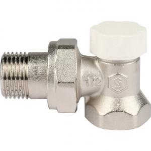 """SVL-1156-000015 STOUT Клапан запорно-балансировочный, угловой 1/2"""""""