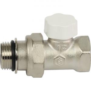 """SVL-1176-100015 STOUT Клапан запорно-балансировочный прямой 1/2"""" (с дополнительным уплотнением)"""