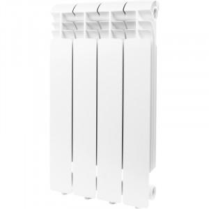 Global ISEO 500 4 секции радиатор алюминиевый боковое подключение