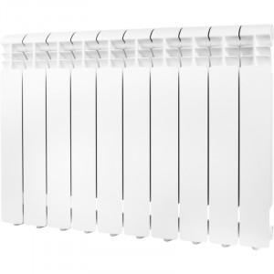Global ISEO 500 10 секций радиатор алюминиевый боковое подключение