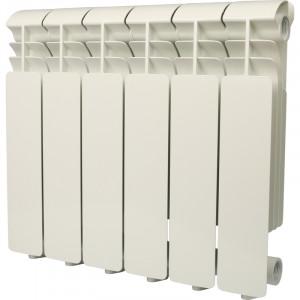 Global ISEO 350 6 секций радиатор алюминиевый боковое подключение