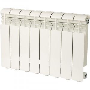 Global ISEO 350 8 секций радиатор алюминиевый боковое подключение