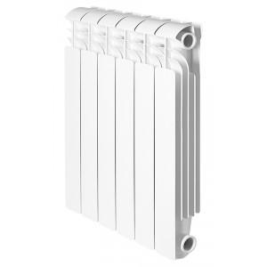 Global ISEO 350 10 секций радиатор алюминиевый боковое подключение
