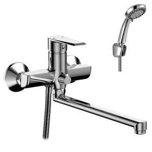 Смеситель Rossinka RS28-33 для ванны универсальный