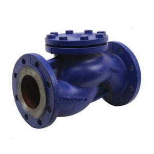 ZETKAMA, Обратный клапан 287A DN080, PN16, Ф/Ф, корпус - чугун, диск - нерж. сталь, Тмакс 300°C