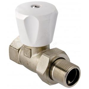 """VALTEC, Клапан для радиатора регулировочный прямой 1/2"""" компактный"""
