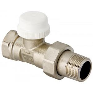 """VALTEC, Клапан термостатический для радиатора прямой 1/2"""""""