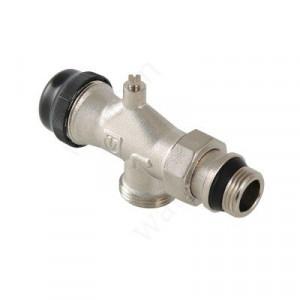 """VALTEC, Клапан термостатический для радиатора осевой 1/2"""" с пред. настройкой и воздухоотводчиком"""