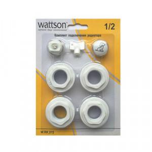 """WATTSON, Комплект подключения радиатора 1/2"""""""