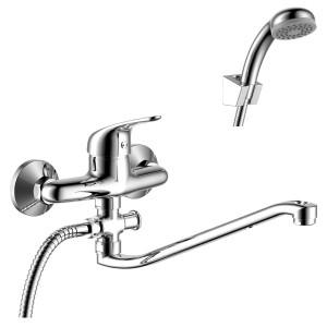 Смеситель Rossinka Y40-35 для ванны с S-образным изливом