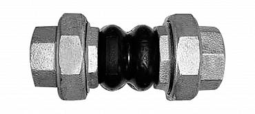 АДЛ Гибкая вставка (компенсатор) FC6-025, Ду 25, РУ 10, р/р Тmax=95°C