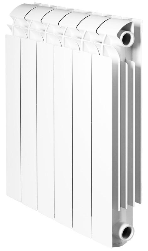 Global VOX R 350 10 секций радиатор алюминиевый боковое подключение