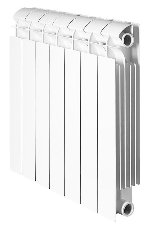 Global STYLE PLUS 500 6 секций радиатор биметаллический боковое подключение
