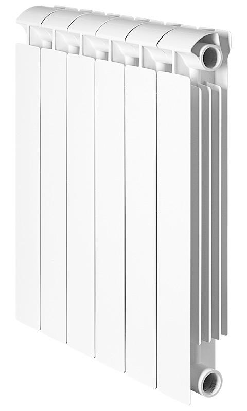 Global STYLE EXTRA 500 6 секций радиатор биметаллический боковое подключение